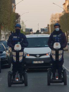 Opération COVID-19 : Segway France soutient les Police Municipales et Nationales